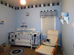 image of modern sailboat nursery decor