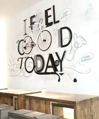 stylish idea cafe wall art simple design decor bistro beautiful inspiration kitchen stickers street racer espresso