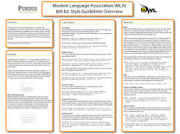 015 In Text Citations Mla Resume Essay Citation Poster English Class