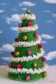 3D Foam Christmas Tree Kits For Children To Make And Decorate Foam Christmas Tree Crafts