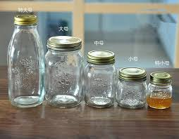 Different Sizes 4 Oz 8 Oz 12 Oz 20 Oz Glass Mason Jar Bocaux En Different