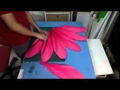 How To Make Big Lotus Flower From Paper