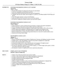 Engineering Consultant Resume Samples Velvet Jobs