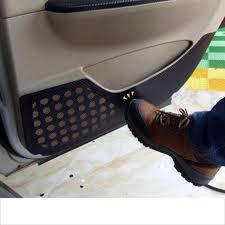 <b>lsrtw2017</b> carbon fiber <b>PVC car</b> door anti kick sticker film for opel ...