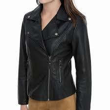 max studio leatherette jacket short long sleeve