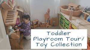 toddler playroom tour open ended toys