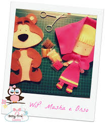 Wip: masha e orso eric e ariel craft and creative ideas