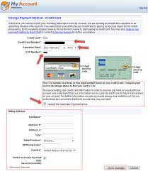 Generate a fresh credit card number by clicking refresh button. Billing Address On A Credit Card Steps To Find Or Change Your Address