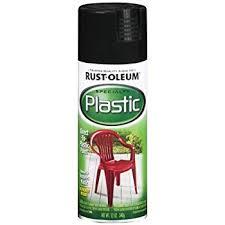 Krylon Outdoor Spaces Color Chart Rust Oleum 211338 Paint For Plastic Spray 12 Oz Black