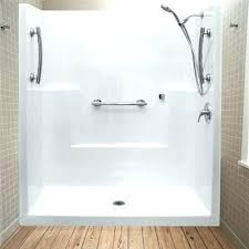 shower units one piece low threshold stall caravan for stalls used craigslist