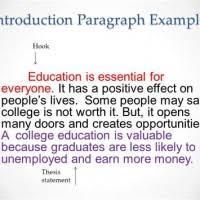 Introduction For Education Essay Mistyhamel