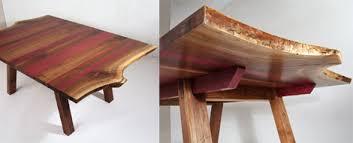 purple heart wood furniture. Eric-manigian-walnut-dining-table-1-detail.jpg Purple Heart Wood Furniture