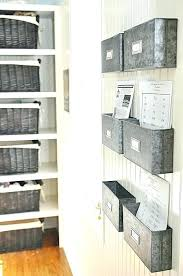 storage for office at home. Wall Mounted Storage Bins Home Office Cabinet Metal For Paperwork At W