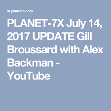 Planet 7x Charts Planet 7x July 14 2017 Update Gill Broussard With Alex