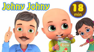 Nhạc thiếu nhi Tiếng Anh vui nhộn Cho Bé ❤ Johny Johny ❤ The ...