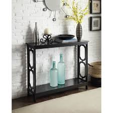 black or white furniture. omega console table in black or white furniture