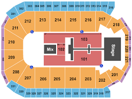 Santa Ana Star Center Seating Chart Rio Rancho