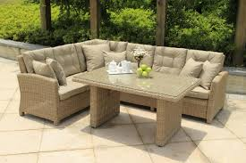 small image of serenity lounge corner sofa casual dining set