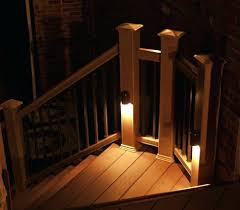 outdoor stairway lighting. Outdoor Stair Lights Modern Stairway Lighting Wood Recessed Exterior Step L
