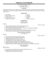 Resume For Fast Food Cashier Dissertation Help Independence A Family Of Services Inc Fast