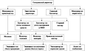 Курсовая работа Бизнес план предприятия Организационный план