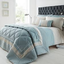 super king duvet cover luxury geo duck egg tap to expand