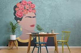 Dit Behang Is Geïnspireerd Op Frida Kahlo Roomednl