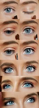 for blue eyes for striking beautiful looks natural makeup