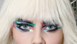 you have to see the eye makeup from the ss 2016 chanel show it s a work