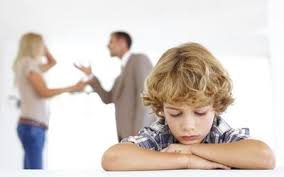 Image result for young parents quarreling before their children