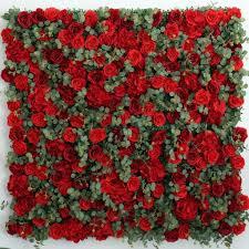 Wedding Photo Background Silk Rose Flower Wall Wedding Background Decoration Flower Runner Stage Wedding Decoration 7 9feet X 7 9feet