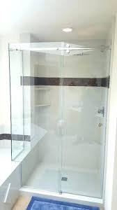 shower cool shower doors enclosures curtains with south sound door s glass mirrors cool