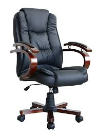 luxurious office chairs. Elegant Luxury Computer Chair Swivel Executive Wooden Office In Black Luxurious Chairs