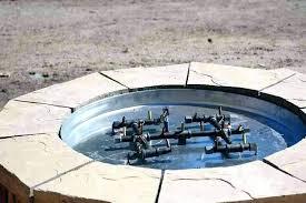 outdoor gas fireplace burner natural gas fire pit burner kit
