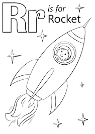 Free Printable Sign In Sheets Simple Letter R Is For Rocket Coloring Page Free Printable Coloring Pages