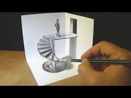 drawing stairs to the door how to draw 3d steps anamorphic illusion vamos you