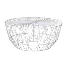 wire coffee table. Life Interiors - Studio Wire Coffee Table (White, 90cm) Modern Tables For Your Living Room Online Or In Store! F