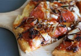 perfect pepperoni pizza slice. Plain Slice Spicy Pepperoni Pizza With Caramelized Onions Throughout Perfect Slice