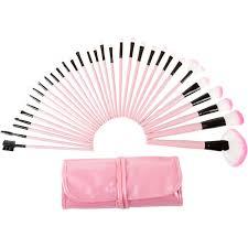 32 piece professional makeup brush set includes foundation eyeshadow eyeliner eyebrow concealer lip brushes by everyday