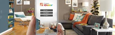 Wall Paint App The Home Depot New Technology Shows You The Perfect Paint Color