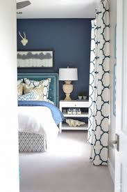 A Guest Room Retreat Tour. Aqua BedroomsNavy Curtains BedroomNavy Blue ...