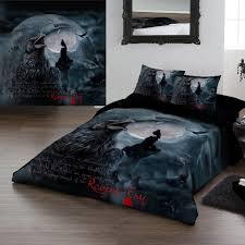 gothic bedding set ravens cry king size duvet us queen within comforter sets ideas 2