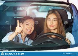 Finger Her While Driving
