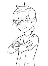 Small Picture Ben 10 Coloring Pages Coloring Page