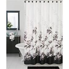 lenox moonlit garden shower curtain and bath accessories