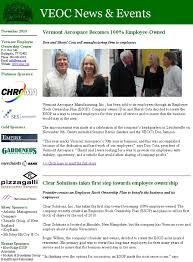 sample company newsletter newsletters vermont employee ownership center