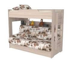 <b>Двухъярусная кровать</b> клик-клак (Кутюр, ясень шимо)