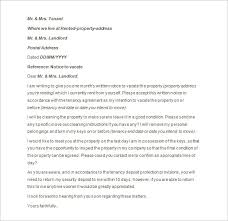 Notice To Vacate Letter 9 Notice To Vacate Templates Doc Excel Pdf Free Premium