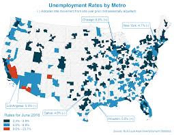 chicago metro unemployment rate remains unchanged at 6 0% in june Local Area Unemployment Statistics Map metro unemployment june2016 bureau of labor statistics local area unemployment statistics map