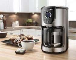 kitchenaid 12 cup glass carafe coffee make onyx black kcm111ob com